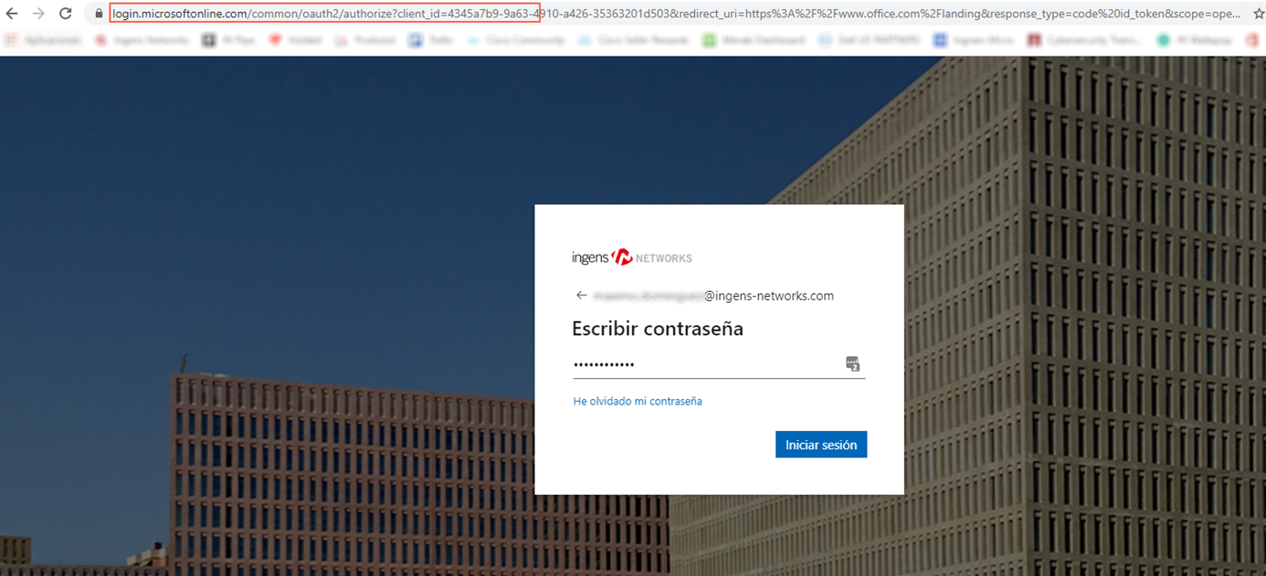 Spoofing web real