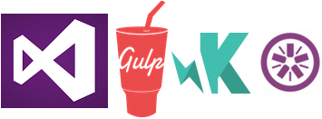 Visual Studio + Gulp + Karma + Jasmine
